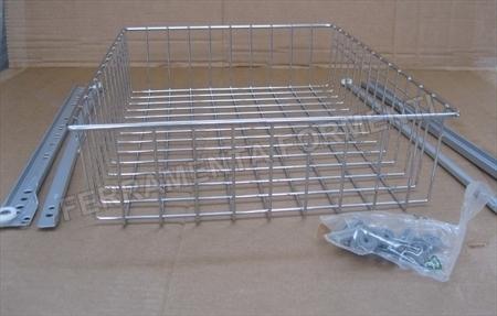 cesto estraibile per cassetto, mobile, cucina ecc- SPALLA 16/18MM ...