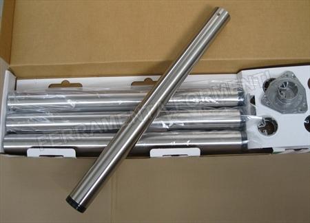 servetto cristallo gambe acciaio : Selezione: set 4 gambe per tavolo regolabili in acciaio, diametro 6 cm ...