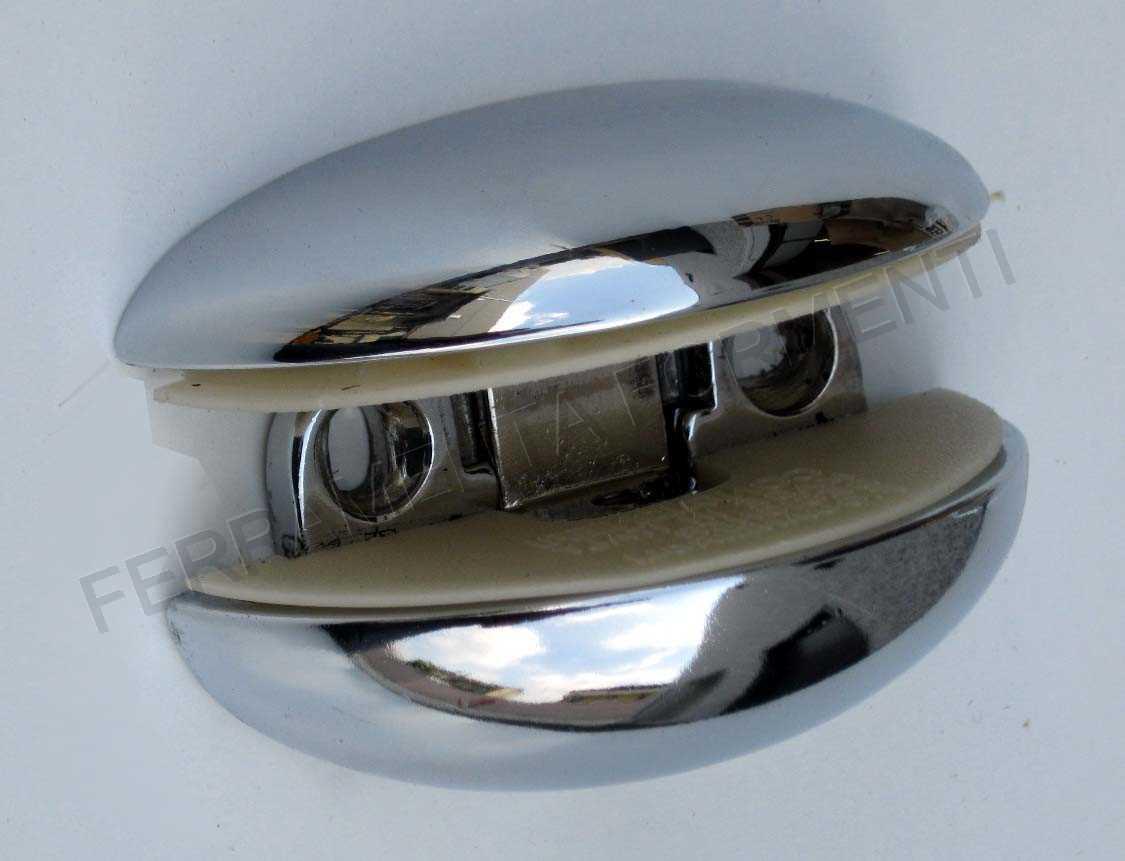 Reggimensola CONFALONIERI MS01425, per piani in vetro spessore 5-16mm ...