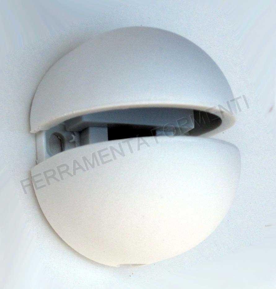 Reggimensola in nylon CONFALONIERI MS01420 per piani in vetro max. 10 ...