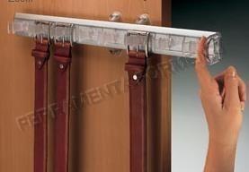 Pull Out Belt Storage System, Aluminium / Transparent   SERVETTO SSNCP152A