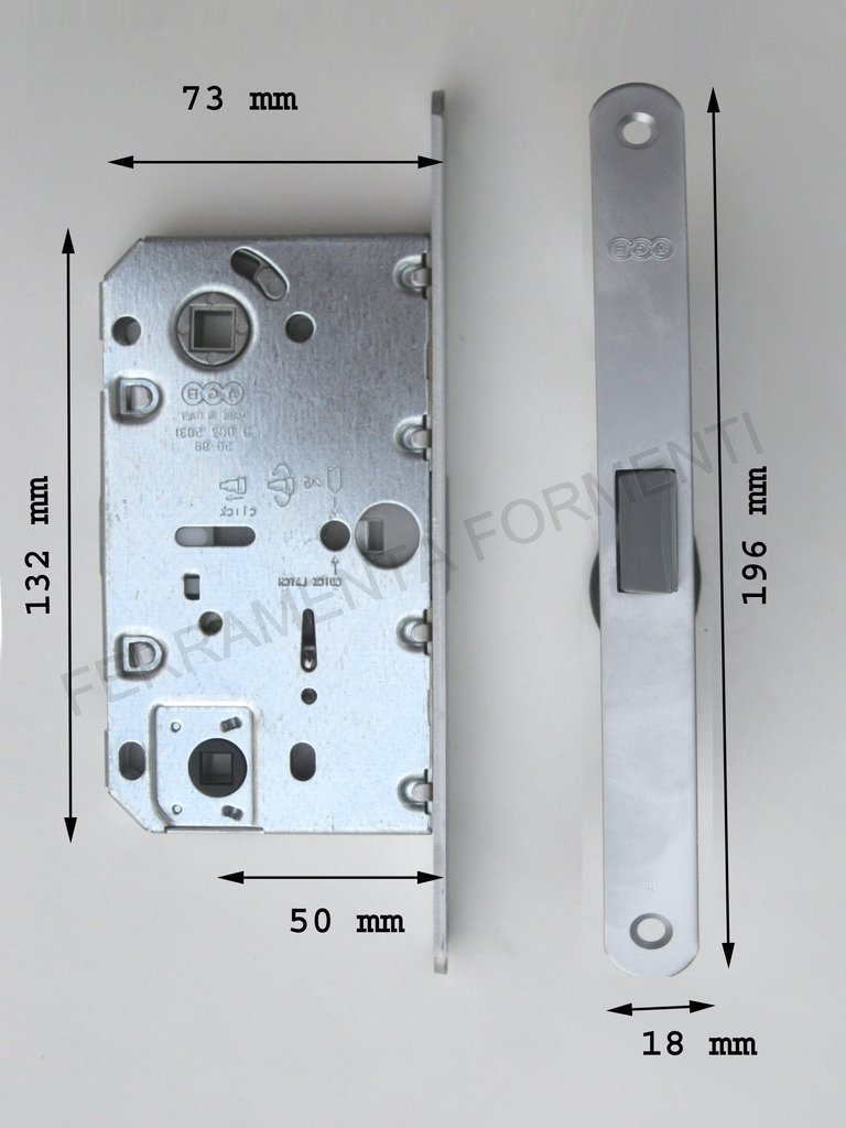 magnetica AGB MEDIANA POLARIS B04102.50.03 per libero-occupato porta ...