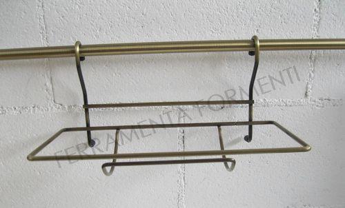 Barre e cavi porta mestoli ed oggetti cucina appendimestoli - Porta scottex da parete ...