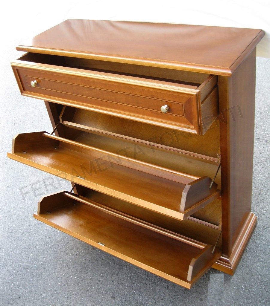 Best scarpiera in legno contemporary ubiquitousforeigner - Ferramenta mobili ikea ...