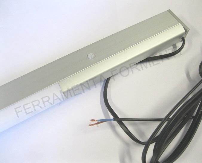 L s miami sensor lampada in alluminio per armadio con sensore