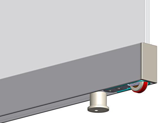 TERNO SCORREVOLI MAGIC 1100/VB/10 - sistema invisibile per porta ...