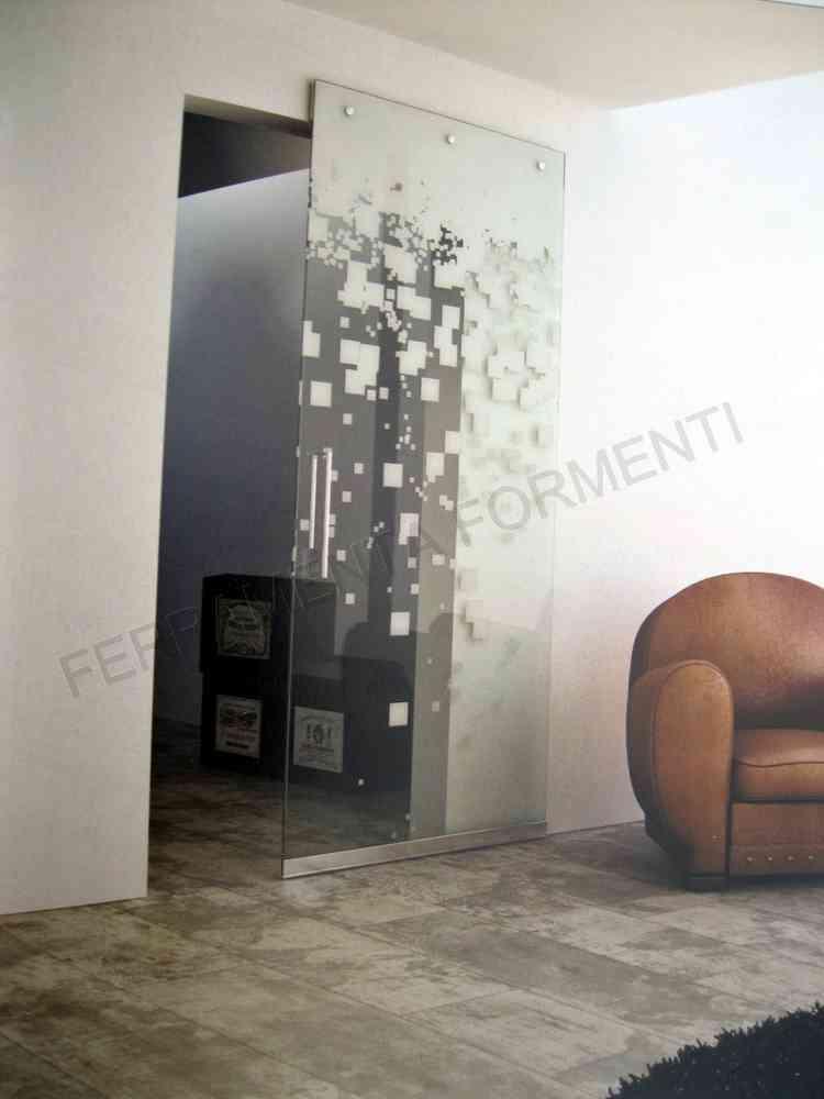 Gentil TERNO SCORREVOLI MAGIC 1100/VB/10   Invisible System For Glass Sliding Door,  Track + Hardware
