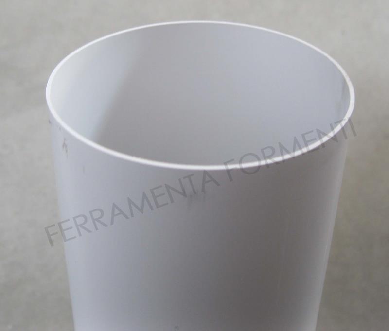 Tubo in PVC diametro 100 mm per cappa o condotto di areazione ...
