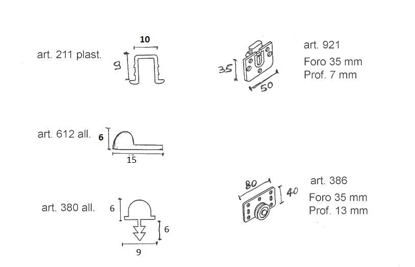 Binari Per Ante Scorrevoli.Binari Ed Accessori Ante Scorrevoli Max 30 Kg Colore Alluminio