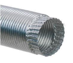 12 Giunzione Per Tubo Alluminio Flessibile Diametro Cm