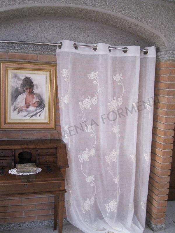 Tenda Arredamento Casa Per Interni Shana 1 Telo Con Anelli