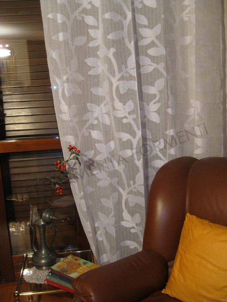 Arredare Casa Con Le Tende.Tenda Arredamento Casa Per Interni Micol 1 Telo Orlato Con Anelli