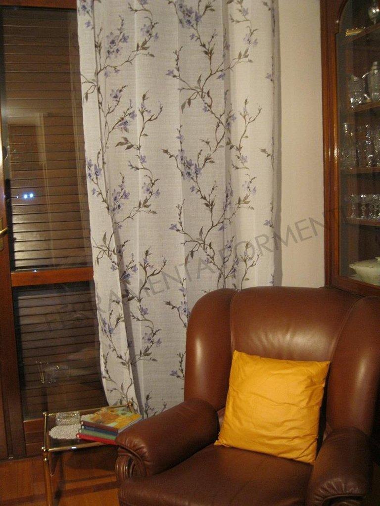 Tenda arredamento casa per interni eolo 1 telo orlato for Arredamento per interni