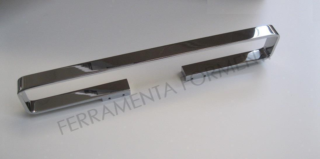 Portasalviette per bagno cromato cm 60 valli only a 8531 for Portasalviette bagno design