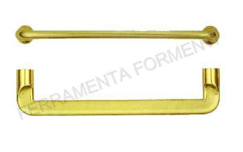 Furniture handle for cabinett OMP Porro 411 - material brass, choose size and color
