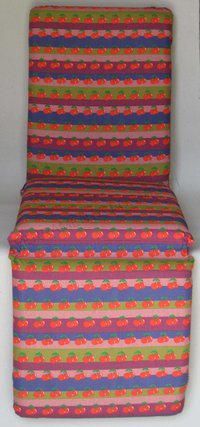 Cushion Cover deckchairs, chaise longue cherries fantasy - REGUITTI garden