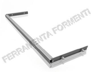 Traversa in alluminio anodizzato per rinforzo basi e pensili