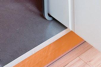 Fondo in alluminio per rivestimento base cucina sottolavello con