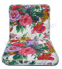 Cushion deckchair, flowers fantasy - SCAB garden