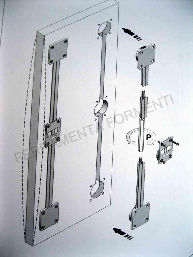 barra raddrizza ante per armadio - rinforzo porta mobile ...