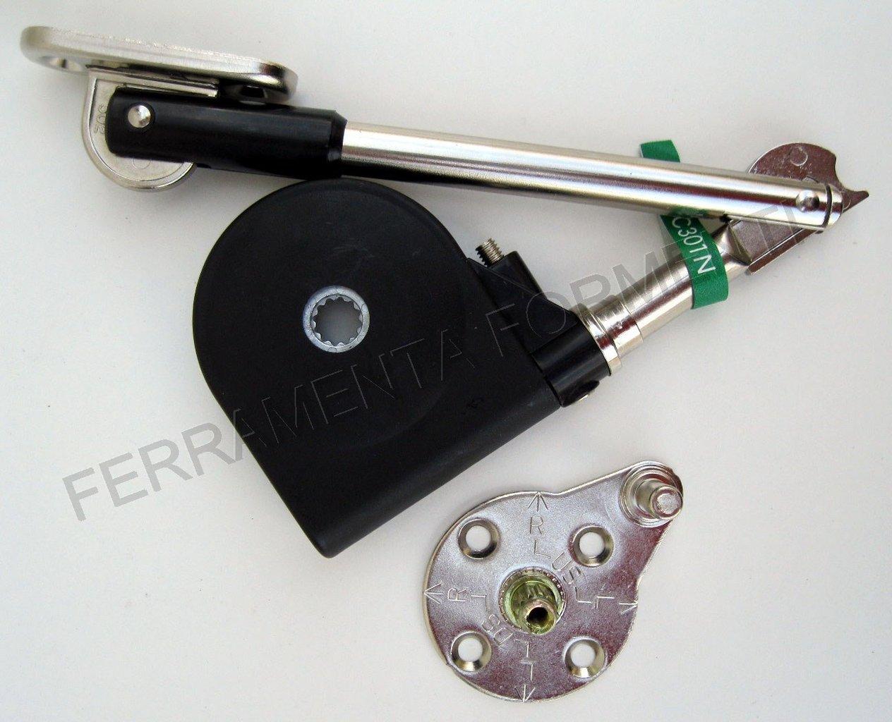 Braccio per movimento anta vasistas del mobile sds c301n - Cerniere per mobili da cucina ...