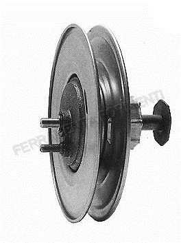 Roller shutter pulley with reduction unit with star connexion d.60