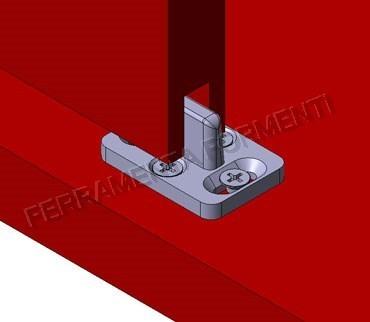 Kit porta scorrevole in legno OMGE 1391 40 KG Formenti Store