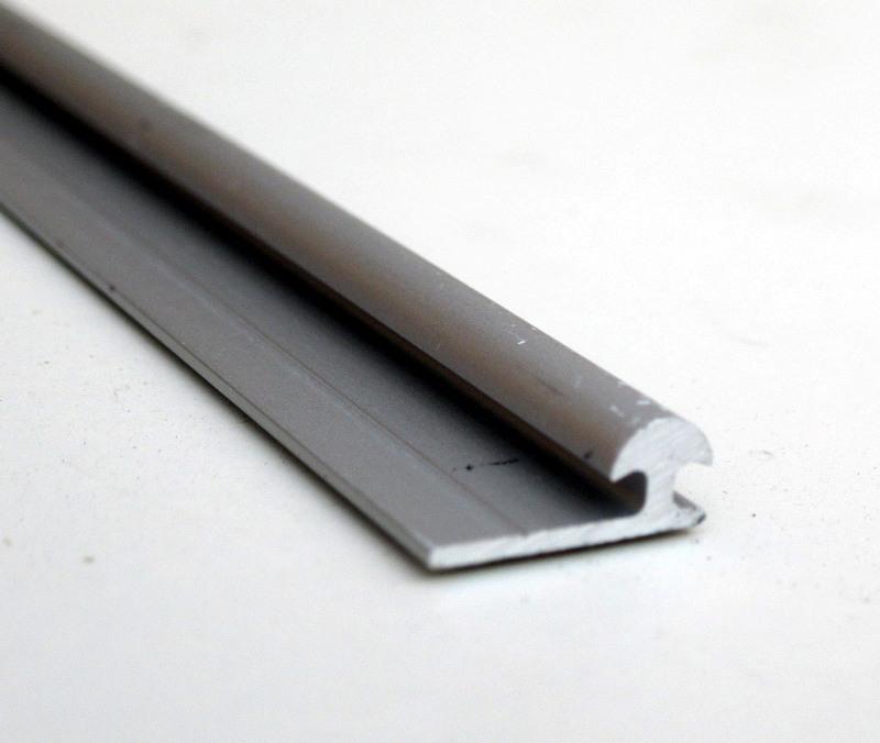Binari Per Ante Scorrevoli Fai Da Te.Binari Ed Accessori Ante Scorrevoli Max 30 Kg Colore Alluminio