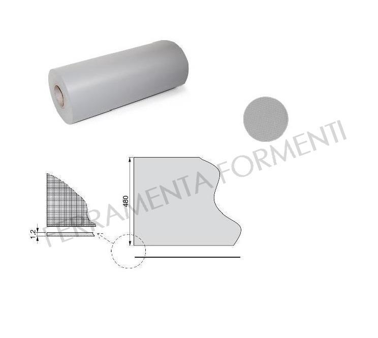 Tappetino antiscivolo profondit cm 48 per rivestimento - Tappetini antiscivolo per cassetti ikea ...