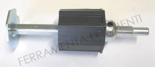 Cap with extension of reinforcement for roller shutter  d.60