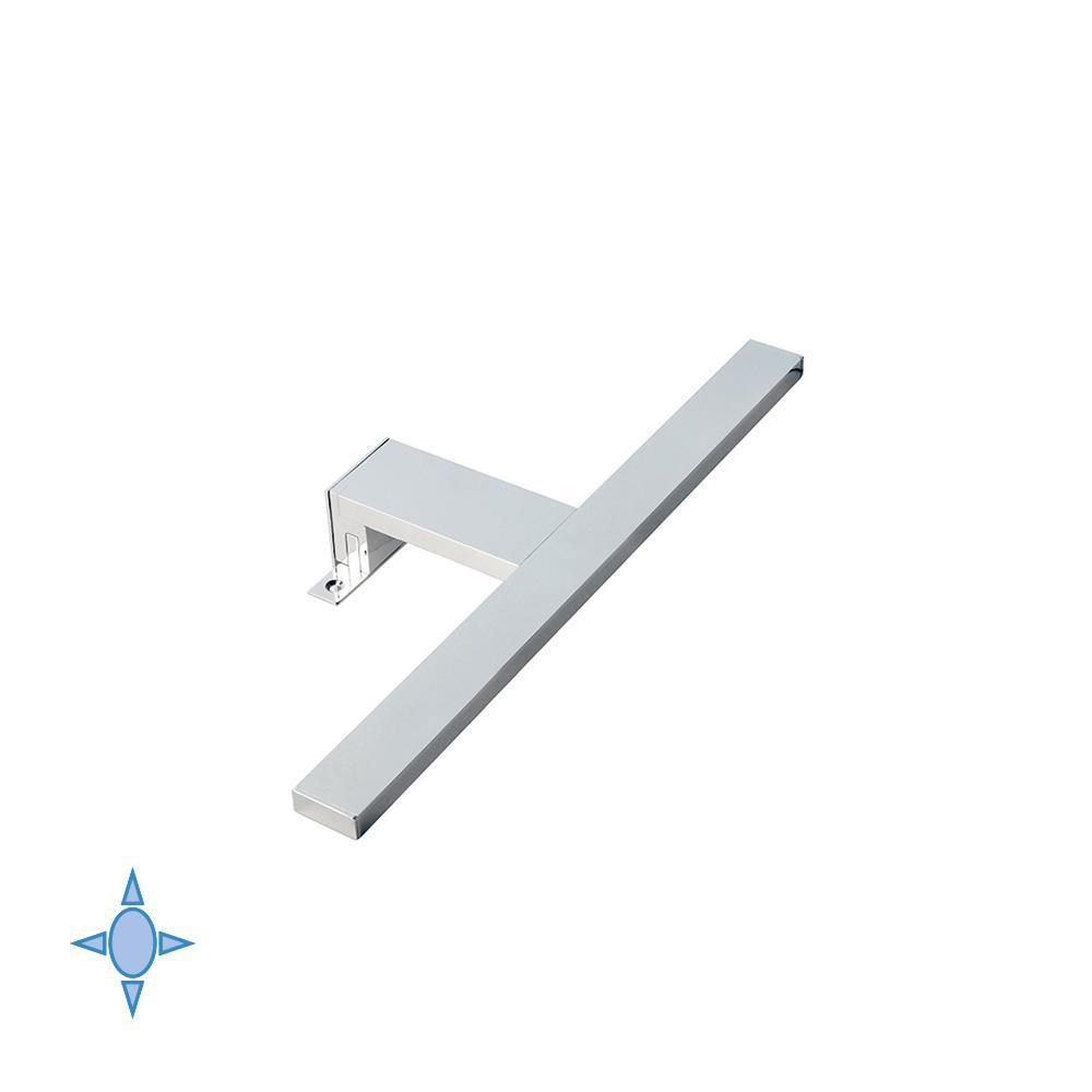 Lampada Led per bagno, luce fredda, applique disponibile cm 30 - 45, Aquarius Emuca