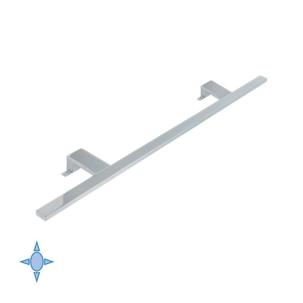 Lampada led, applique per bagno Aquarius Emuca L.800 mm luce fredda