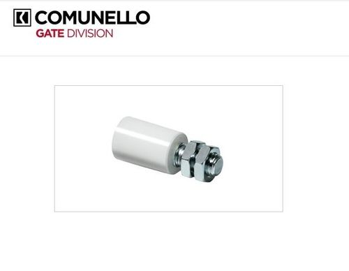 Nylon roller guide for sliding gate, diameter 30mm, A=40mm L=74mm M16